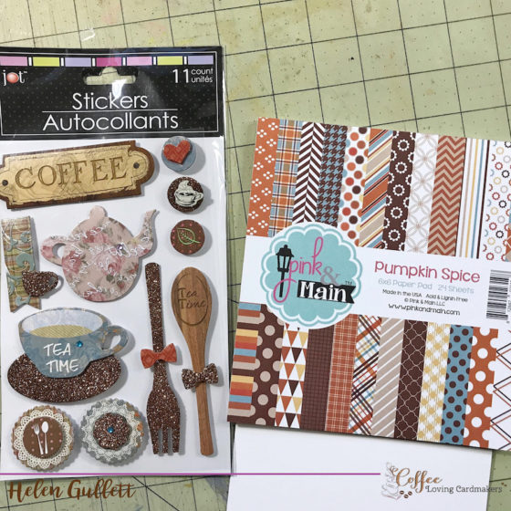 Coffee Loving Cardmaking Thursday Break: Tea Time