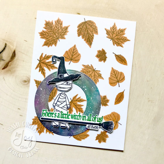 Halloween and Die Cuts Challenge with Joy Clair