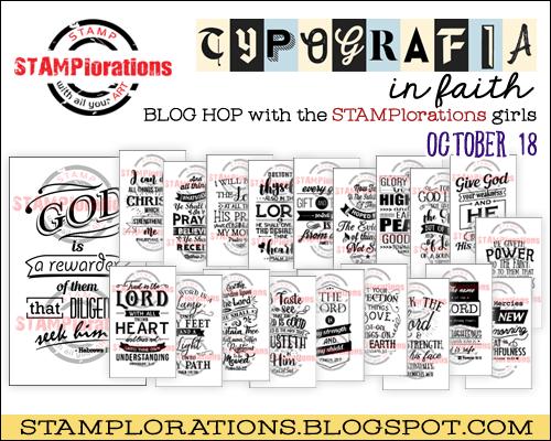 STAMPlorations Typografia In Faith
