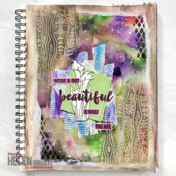 Inside and Out Beautiful Is What You Are Art Journal