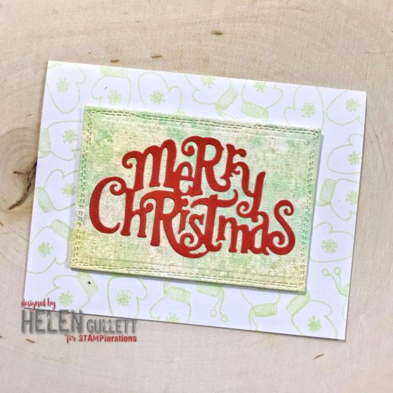 One More CAS Christmas Card
