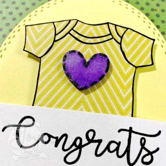 Joy Clair Mardi Gras Event 2018 - New Baby Congrats Card