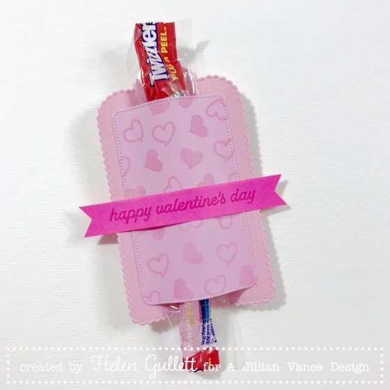 A Jillian Vance Design Valentine's Day Treat Holder