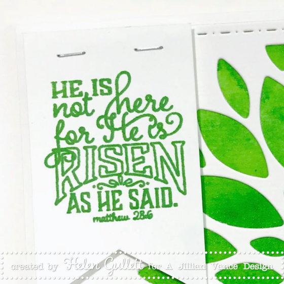 A Jillian Vance Design - An Easter Card - Helen Gullett