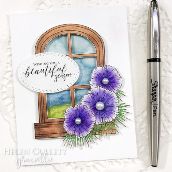Wishing You A Beautiful Season - Graciellie Design Digital Stamp