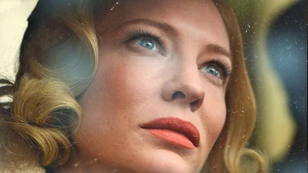 Blanchett gazes