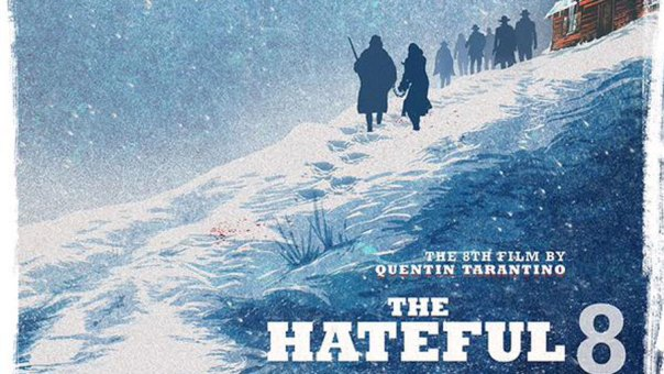 """The Hateful Eight,"" a rare extrerior shot"