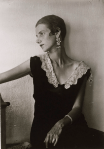 Peggy Guggenheim was homely.,
