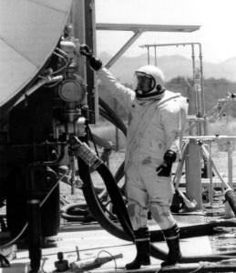 Titan II RFHCO (Rocket Fuel Handler's Clothing Outfit)
