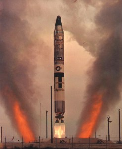 Titan II Blasts Off