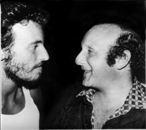Clive Davis and Bruce Springsteen