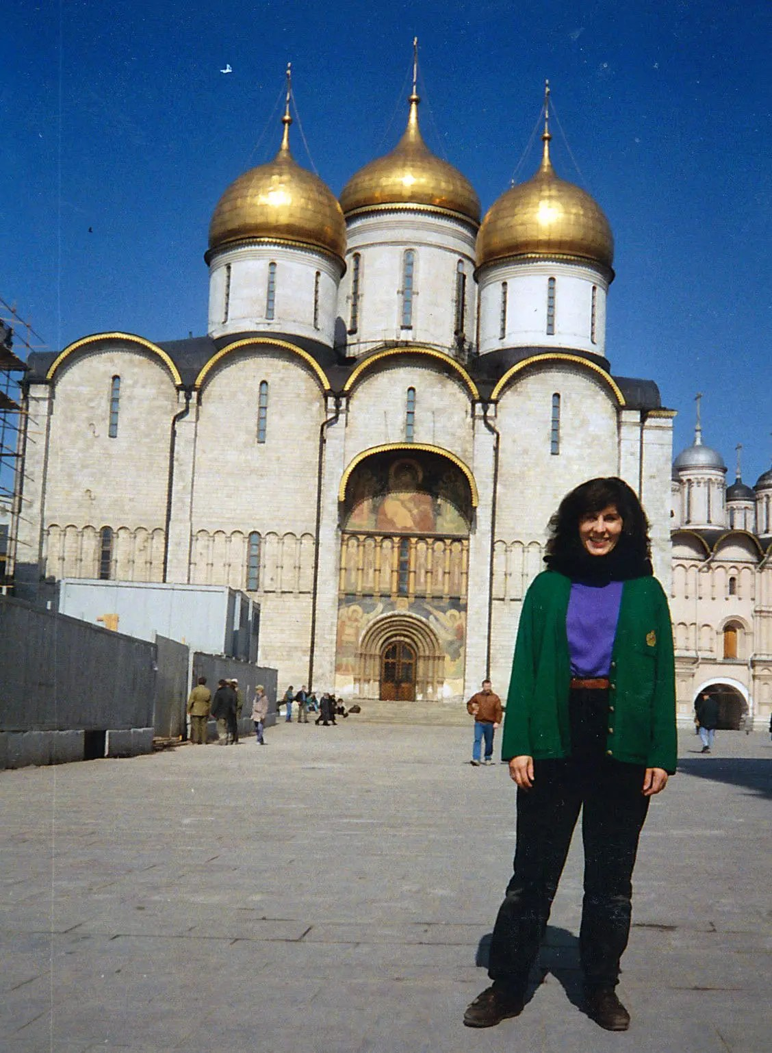 One of my favorite places, the Kremlin in Moscow, Russia. This is from 1990 Photo credit: Helen Holter
