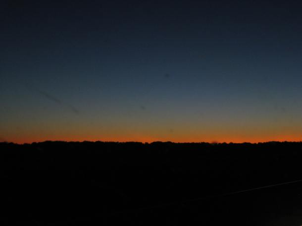 Day is done, outside Hinsdale, Montana near our family cemetery.