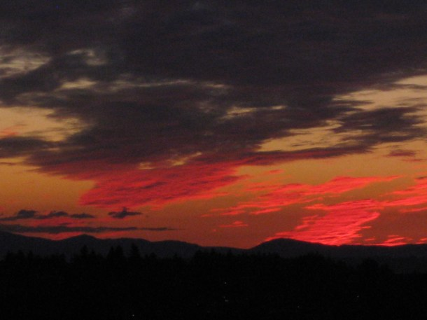 Sunset in Seattle - 4