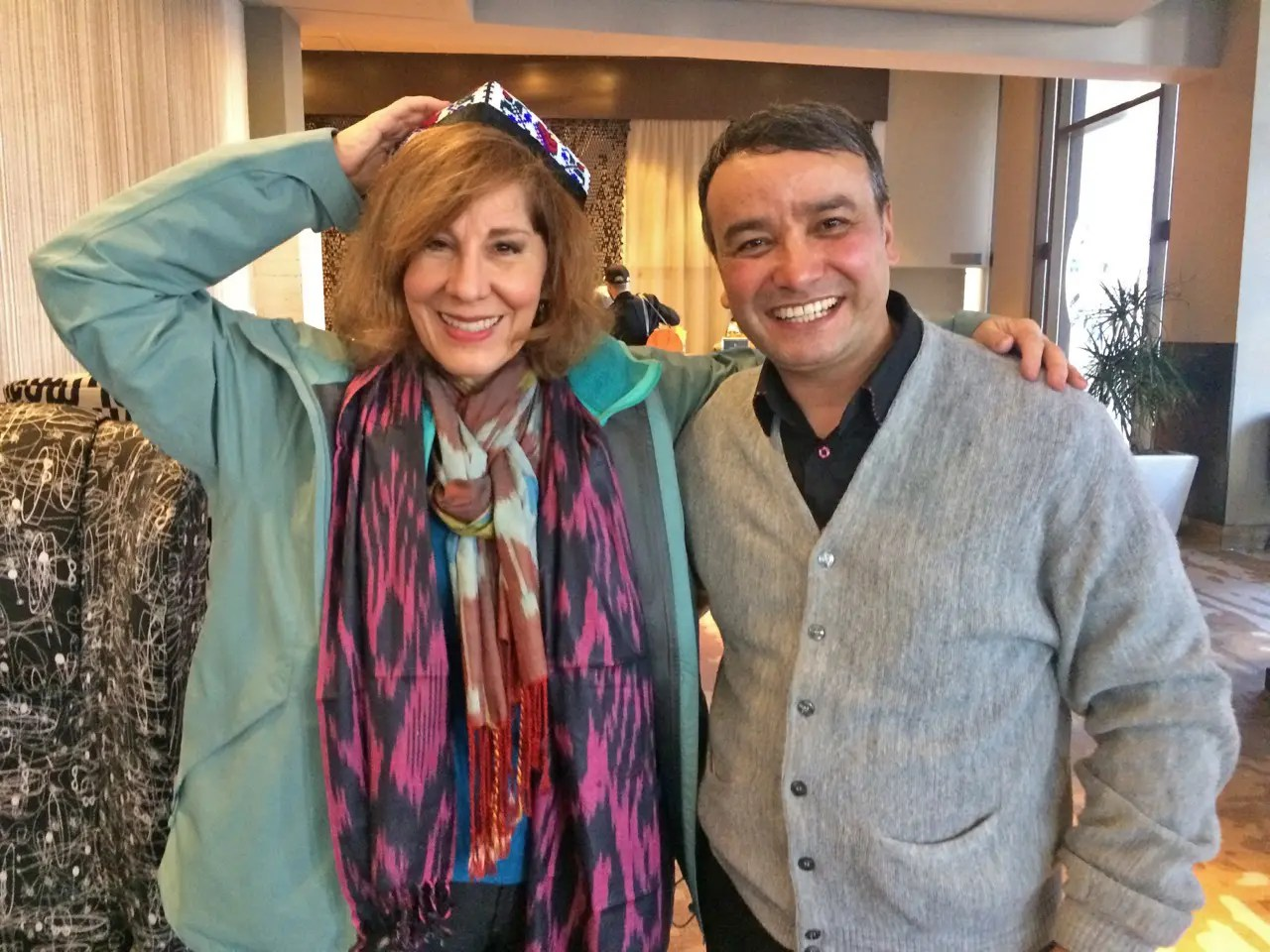 Helen Holter and A'zam Obidov (Seattle, Feb 17, 2018)