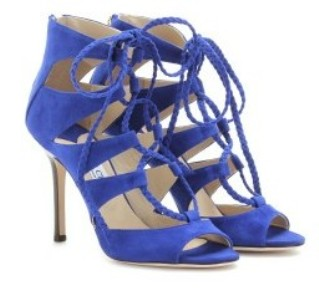 The Art of Accessorizing-HelenHou.com-Jimmy Choo gladys suede sandals