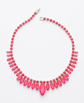 Ann Taylor necklace,neon necklace,neon pink necklace,statement necklace,helenhou, helen hou, the art of accessorizing, accessoriseart, celebrity style, street style, lookbook, red carpet looks