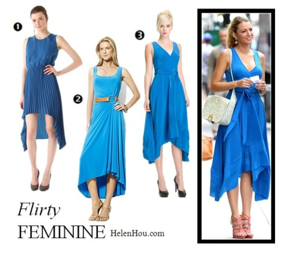 Blake lively, blue dress, how to wear blue dress,BB Dakota,Lauren Ralph Lauren,Marc by Marc Jacobs helenhou, helen hou, the art of accessorizing, accessoriseart, celebrity style, street style, lookbook, model off-duty,red carpet looks,red carpet looks for less, fashion, style, outfits, fashion guru, style guru, fashion stylist, what to wear, fashion expert, blogger, style blog, fashion blog,look of the day, celebrity look,celebrity outfit,designer shoes, designer cloth,designer handbag,