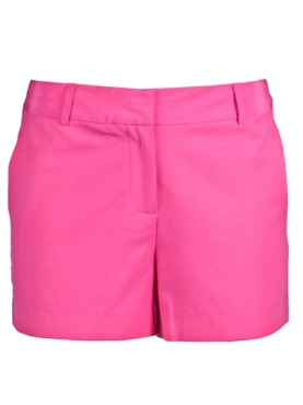 Elizabeth and James shorts, neon shorts, neon pink shorts,helenhou, helen hou, the art of accessorizing, accessoriseart, celebrity style, street style, lookbook, red carpet looks