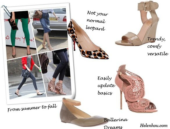 Claudia Schiffer, fashion icon, street style,early fall outfit, Christian Louboutin leopard pumps, Alejandro Ingelmo ankle strap wedge sandals, Sergio Rossi cutout sandals,  Chloé ballerina flats,Chloe ballet ankle strap flats,green skinny jeans, black clutch, Mulberry bag,red cardigan,denim skirt, Yves Saint Laurent bag,  helenhou, helen hou, the art of accessorizing, accessoriseart, celebrity style, street style, lookbook, model off-duty,red carpet looks,red carpet looks for less, fashion, style, outfits, fashion guru, style guru, fashion stylist, what to wear, fashion expert, blogger, style blog, fashion blog,look of the day, celebrity look,celebrity outfit,designer shoes, designer cloth,designer handbag,