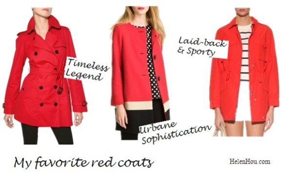 what to wear with a red blazer, what to wear with a red coat, what to wear with a red blouse, red peplum top, Burberry London trench coat, Kate spade colorblock wool coat, Marc by Marc Jacobs military coat, helenhou, helen hou, the art of accessorizing, accessoriseart, celebrity style, street style, lookbook, model off-duty,red carpet looks,red carpet looks for less, fashion, style, outfits, fashion guru, style guru, fashion stylist, what to wear, fashion expert, blogger, style blog, fashion blog,look of the day, celebrity look,celebrity outfit,designer shoes, designer cloth,designer handbag,