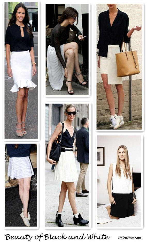 how to wear black and white, what to wear with white skirts, Jordana Brewster, Rue de Navarin, Annemiek Kessels, Gaia Repossi, Amanda Brooks, Lana Del Rey,two tone dress, asymmetrical skirt,Jimmy choo strap sandals,fish tail skirt, fit and flattering skirt,black blouse, michael kors bag, helenhou, helen hou, the art of accessorizing, accessoriseart, celebrity style, street style, lookbook, model off-duty,red carpet looks,red carpet looks for less, fashion, style, outfits, fashion guru, style guru, fashion stylist, what to wear, fashion expert, blogger, style blog, fashion blog,look of the day, celebrity look,celebrity outfit,designer shoes, designer cloth,designer handbag,