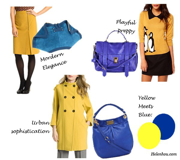 Alexander McQueen clutch,Classiques Entier yellow pencil skirt , Proenza Schouler PS1 bag,Sugarhill Boutique penguin sweater, Marc by Marc Jacobs Hobo,Weekend Max Mara  classic double breast wool coat coat, what to wear with yellow coat, what to wear with blue bags,  what to wear with yellow skirt,what to wear with yellow sweater, helenhou, helen hou, the art of accessorizing, accessoriseart, celebrity style, street style, lookbook, model off-duty,red carpet looks,red carpet looks for less, fashion, style, outfits, fashion guru, style guru, fashion stylist, what to wear, fashion expert, blogger, style blog, fashion blog,look of the day, celebrity look,celebrity outfit,designer shoes, designer cloth,designer handbag,