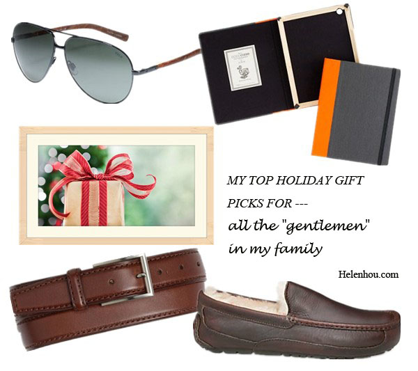 My Top Holiday Gift Picks For Every Family Member, Ralph LaurenPOLO RALPH LAUREN Auto Aviator Sunglasses ,  Dodocase for J.crew Ipad case , UGG AustraliaMen's Ascot Leather Slippers ,, Trafalgar 'Cromwell' Belt , helenhou, helen hou, the art of accessorizing, accessoriseart, celebrity style, street style, lookbook, model off-duty,red carpet looks,red carpet looks for less, fashion, style, outfits, fashion guru, style guru, fashion stylist, what to wear, fashion expert, blogger, style blog, fashion blog,look of the day, celebrity look,celebrity outfit,designer shoes, designer cloth,designer handbag,