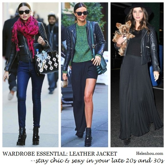 miranda kerr, leather jacket, wardrobe essential, how to wear leather jacket,quilted leather jacket, what to wear with leather jacket,Prada Floral Applique Spazzolato Tote Bag,Manolo Blahnik BB 105 black suede pump CLASSIC,Balenciaga leather jacket,Tabitha Simmons shoes,Nobody jeans, Fint sunglasses,Bvlgari ring,red leopard scarf,     helenhou, helen hou, the art of accessorizing, accessoriseart, celebrity style, street style, lookbook, model off-duty,red carpet looks,red carpet looks for less, fashion, style, outfits, fashion guru, style guru, fashion stylist, what to wear, fashion expert, blogger, style blog, fashion blog,look of the day, celebrity look,celebrity outfit,designer shoes, designer cloth,designer handbag,