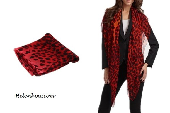 Heidi Klum, Miranda Kerr ,Ana Beatriz Barros,colored leopard scarf,red leopard scarf, purple leopard scarf,skinny jeans, olive blazer, balenciaga leather jacket,j brand coated red skinny jeans, off shoulder sweater,how to wear leopard scarf, stylish fall/winter outfit,prada floral tote, Alexander McQueen - SL Leopard Skull Scarf (Bordeaux) - Accessories,   helenhou, helen hou, the art of accessorizing, accessoriseart, celebrity style, street style, lookbook, model off-duty,red carpet looks,red carpet looks for less, fashion, style, outfits, fashion guru, style guru, fashion stylist, what to wear, fashion expert, blogger, style blog, fashion blog,look of the day, celebrity look,celebrity outfit,designer shoes, d	esigner cloth,designer handbag,