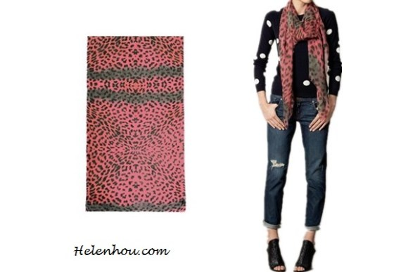 Heidi Klum, Miranda Kerr ,Ana Beatriz Barros,colored leopard scarf,red leopard scarf, purple leopard scarf,skinny jeans, olive blazer, balenciaga leather jacket,j brand coated red skinny jeans, off shoulder sweater,how to wear leopard scarf, stylish fall/winter outfit,prada floral tote, Lily and LionelAngelina neon-leopard scarf ,   helenhou, helen hou, the art of accessorizing, accessoriseart, celebrity style, street style, lookbook, model off-duty,red carpet looks,red carpet looks for less, fashion, style, outfits, fashion guru, style guru, fashion stylist, what to wear, fashion expert, blogger, style blog, fashion blog,look of the day, celebrity look,celebrity outfit,designer shoes, d	esigner cloth,designer handbag,