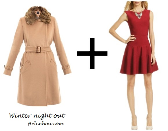 Taylor Swift, winter coat, what to wear with colored winter coat, camel coat, cobalt blue coat, green blue coat, red dress, nude pumps, color block, orange top, grey skirt, ballet flats, ankle boots,infinity scarf,  weekend by maxmara WEE-D-TRITONE coats CAMEL ,  Issa@Rent The RunwayBreak His Heart Dress,    helenhou, helen hou, the art of accessorizing, accessoriseart, celebrity style, street style, lookbook, model off-duty,red carpet looks,red carpet looks for less, fashion, style, outfits, fashion guru, style guru, fashion stylist, what to wear, fashion expert, blogger, style blog, fashion blog,look of the day, celebrity look,celebrity outfit,designer shoes, designer cloth,designer handbag,