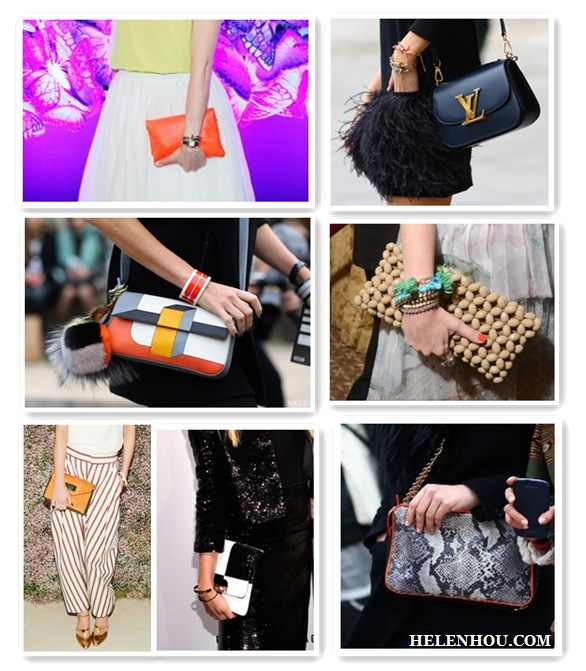 Eva Chen, Paris fashion week street style, Marielle Safra, Claire Courtin Clarins, Leigh Lezark,crossbody bag, neon orange clutch, louis vuitton navy leather cross body bag, fendi FENDI Multicoloured Baguette, black and white ,colorblock bag, wood bead clutch, Chloe Orange Fizz Leather Sally Clutch ,black and white checkered clutch, python snake skin chain bag, Stella McCartney FALABELLA SNAKE-PRINT MINI SHOULDER BAG,spring 2013 trend, spring 2013 bag,   helenhou, helen hou, the art of accessorizing, accessoriseart, celebrity style, street style, lookbook, model off-duty,red carpet looks,red carpet looks for less, fashion, style, outfits, fashion guru, style guru, fashion stylist, what to wear, fashion expert, blogger, style blog, fashion blog,look of the day, celebrity look,celebrity outfit,designer shoes, designer cloth,designer handbag,