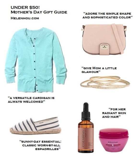 mother's day gift ideas 2013, wardrobe staple,timeless pieces,under 50 gift ideas, under 100 gift ideas,great gift ideas,fashion essentials, beauty essentials, Halogen Three Quarter Sleeve Cardigan, Aldo McEnroe Cross Body Flapover Bag,   Nadri Crystal Bangle,  Kerastase Chroma Reflect Masque,  SephoraJosie Maran Argan Oil,  Soludos Classic Stripe Espadrilles,  helenhou, helen hou, the art of accessorizing, accessoriseart, celebrity style, street style, lookbook, model off-duty,red carpet looks,red carpet looks for less, fashion, style, outfits, fashion guru, style guru, fashion stylist, what to wear, fashion expert, blogger, style blog, fashion blog,look of the day, celebrity look,celebrity outfit,designer shoes, designer cloth,designer handbag,