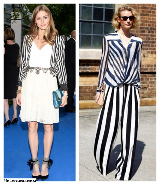 how to wear stripes, how to wear striped blazer, Olivia Palermo,blogger Zanita Morgan,10 Crosby Derek Lam Striped Surplice Blouse, MSGM Black White Stripe Silk Trousers ,CC SKYE Revolver Pendant Necklace,Toms Lobamba Tortoise Polarizeds sunglasses,mulberry lily crossbody bag,  Olivia Palermo-Zara striped jacket, Topshop white skirt,Tibi Ava Sequin Cami, Aquazzura ankle strap pump, Christian Dior blue bag,   helenhou, helen hou, the art of accessorizing, accessoriseart, celebrity style, street style, lookbook, model off-duty,red carpet looks,red carpet looks for less, fashion, style, outfits, fashion guru, style guru, fashion stylist, what to wear, fashion expert, blogger, style blog, fashion blog,look of the day, celebrity look,celebrity outfit,designer shoes, designer cloth,designer handbag,