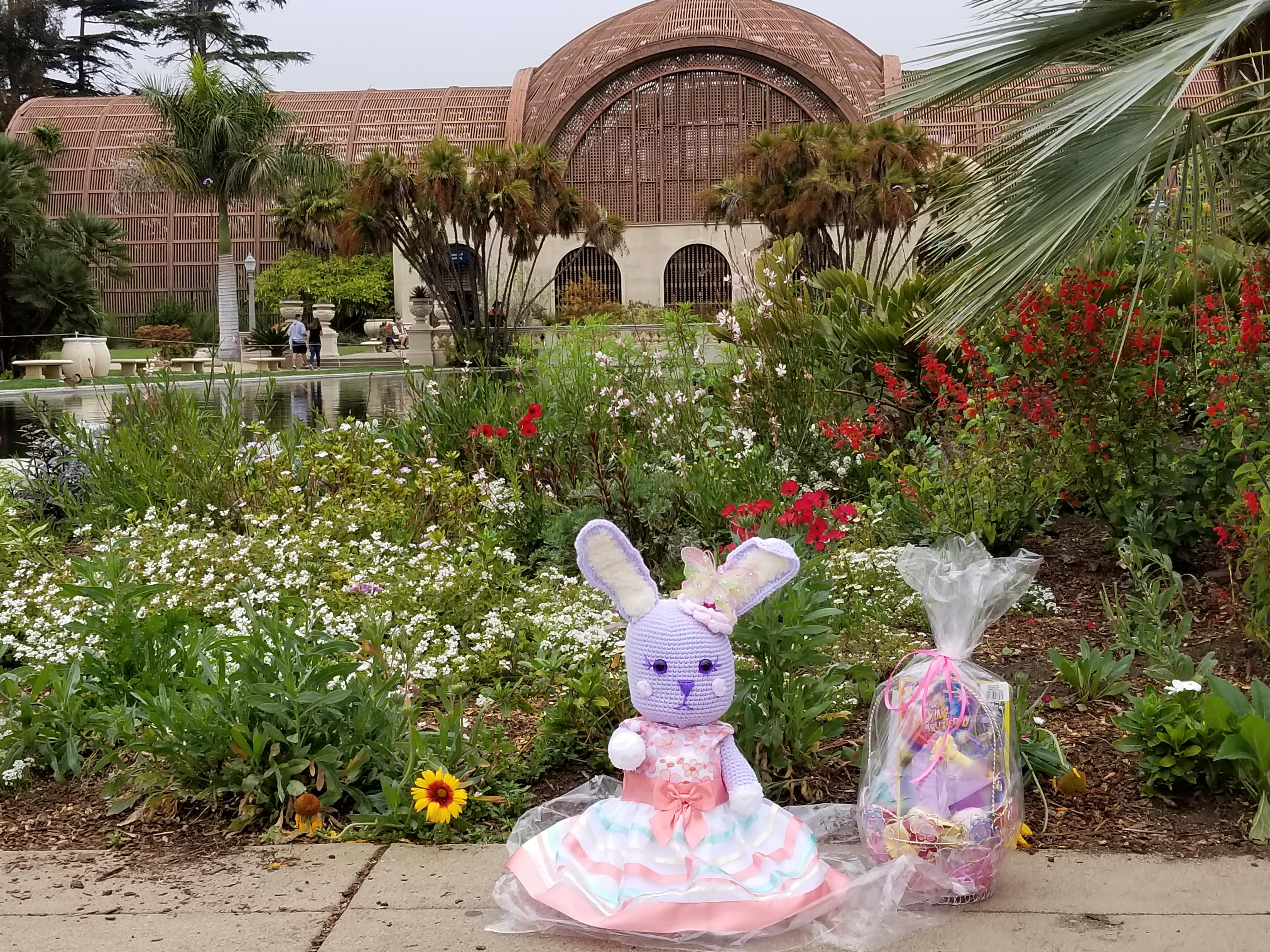 Crochet Cute Large Bunny Rabbit Easter Helenmay