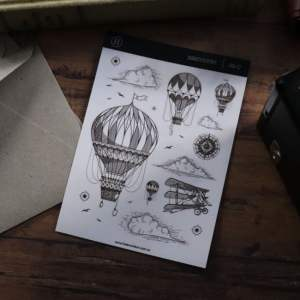 Discovery – Clear Sticker Sheet