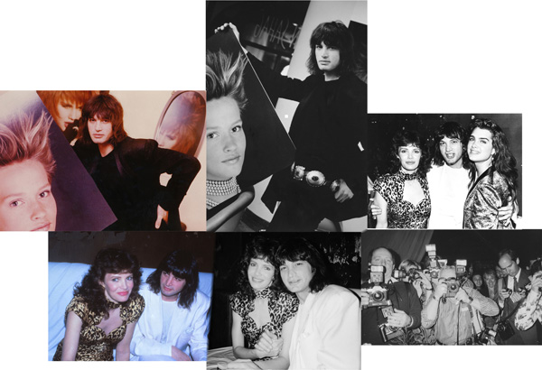John Sahag - The Hairdresser collage