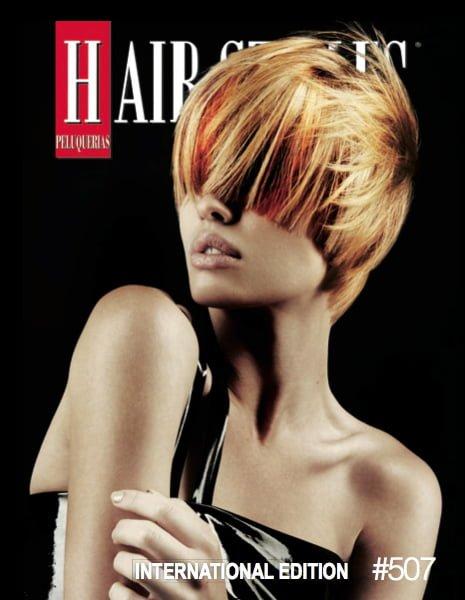 Peluquerias Magazine Cover – January 2014