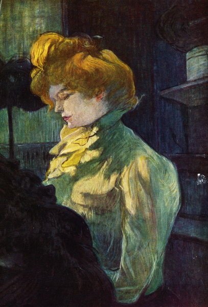 Toulouse-Lautrec Belle Epoque Hair - 1900