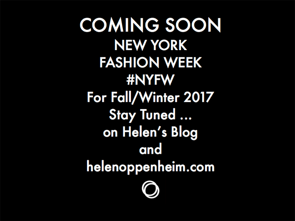 Coming Soon NYFW Fall - 2017