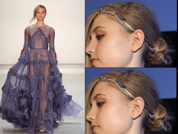 Hair Jewelry Dream Dress NYFW - 2017