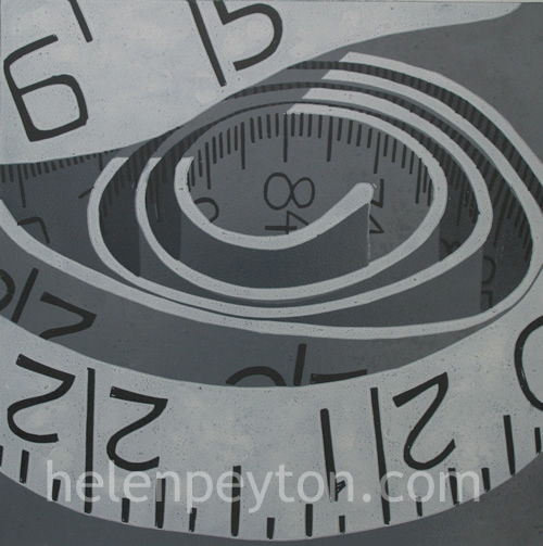 The Measure  – 7 Colour Reduction Linocut