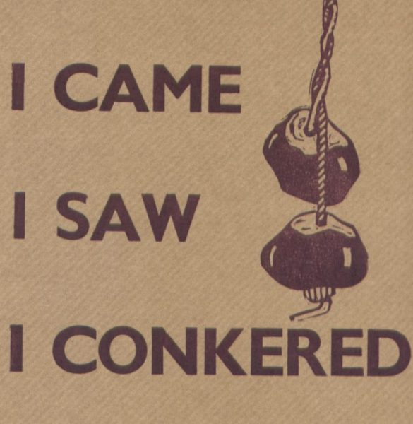 Letterpress Card – Conkered