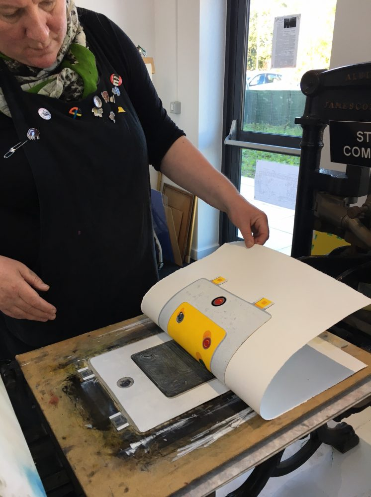 New linocut courses announced