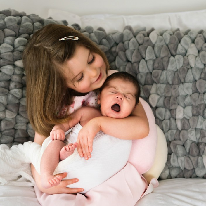 Helen Rowan Photography Chesterfield Newborn Home Baby sisters sweet