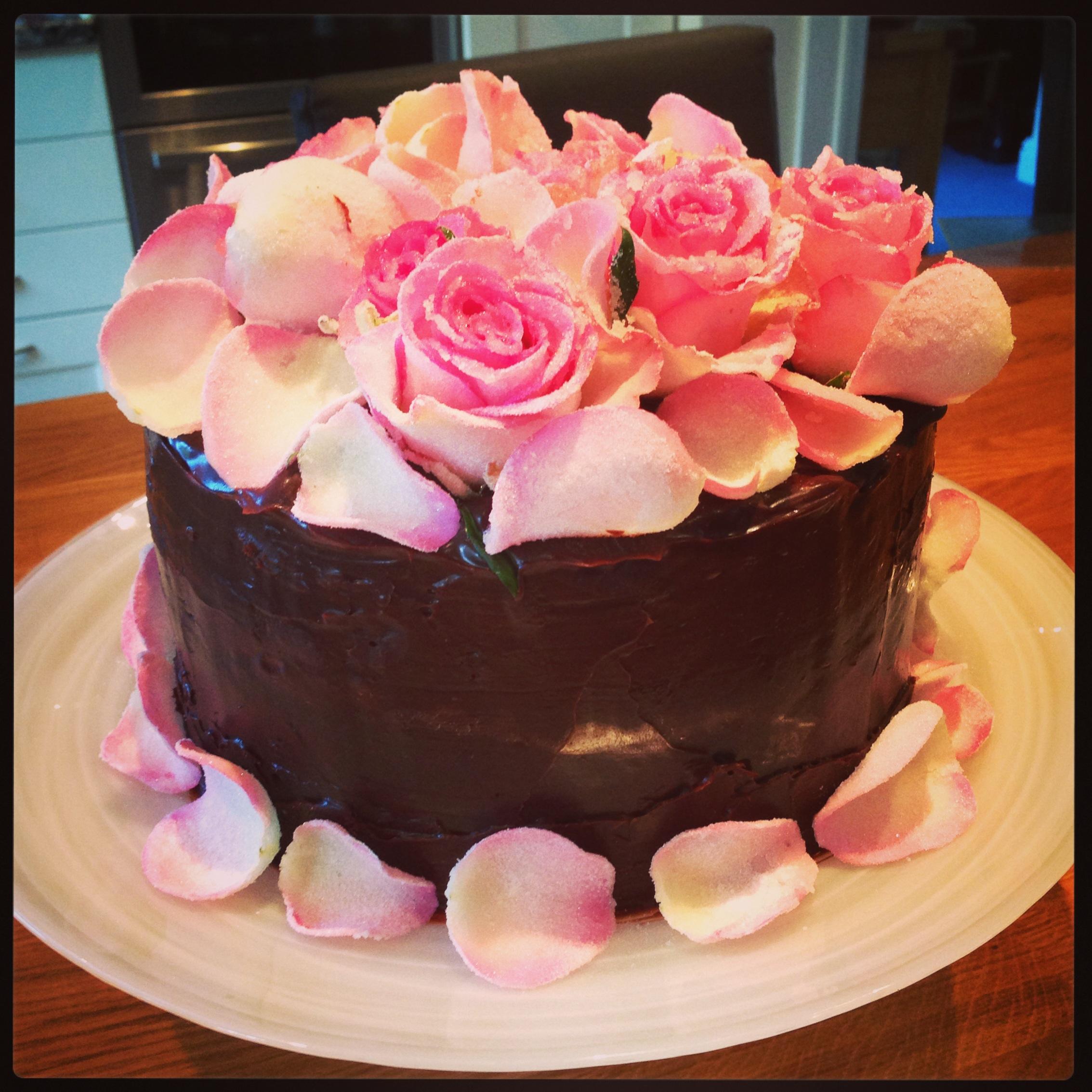 Dark Chocolate Truffle Cake Helly S Bakery