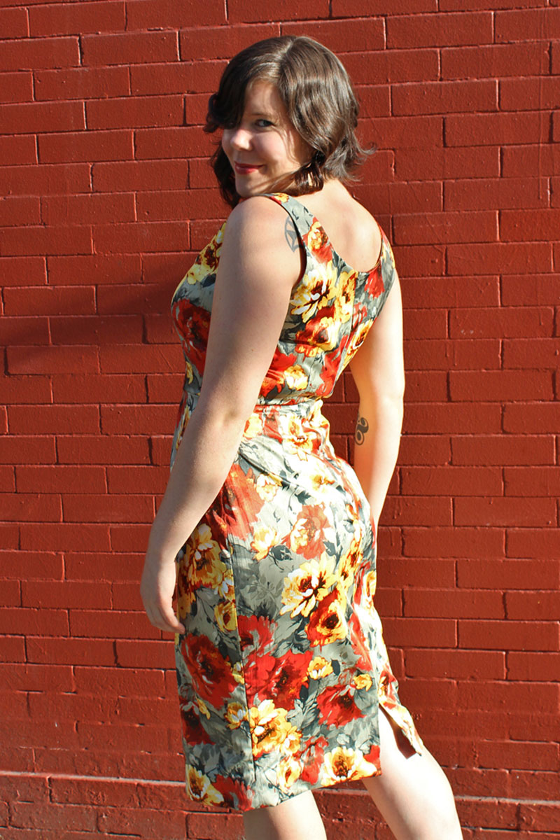 Gertie's Sultry Sheath by Helen's Closet