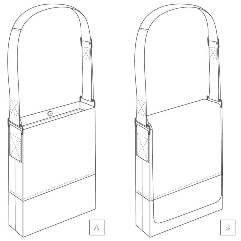 FREE Granger Book Bag PDF Pattern by Helen's Closet