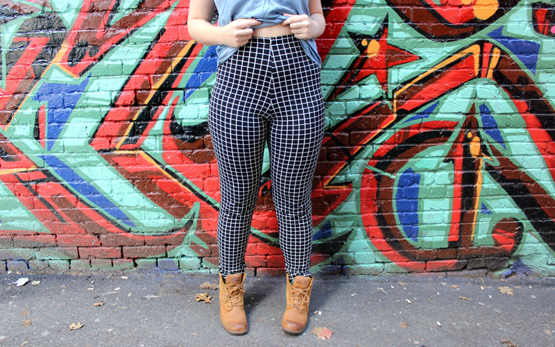 Grid Pants by Helen's Closet